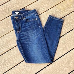 Women's JCREW Ankle-Length Skinny Jeans 👖
